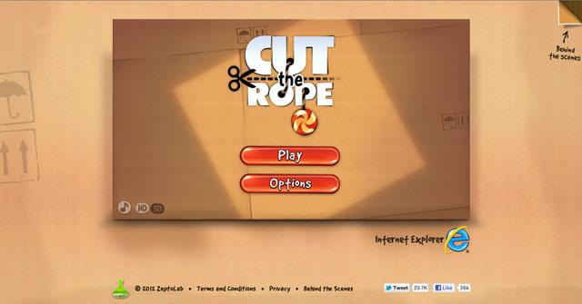 cut the rope для mac