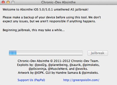 jailbreak iphone 4s и ipad 2