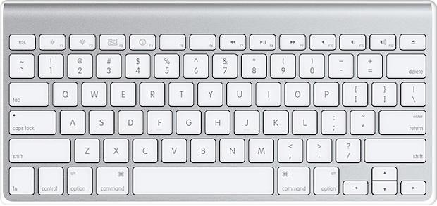 клавиатурные сочетания в OS X