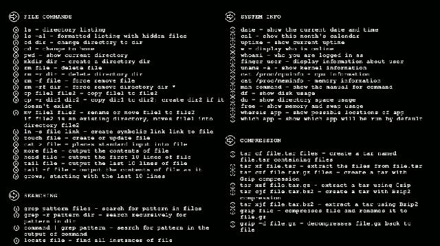 cli commands