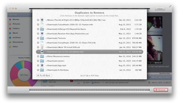 поиск дубликатов на mac