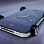 Mercedes и iPhone: Не разлей вода!