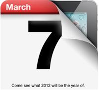 ipad 3 7 march