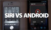 siri vs android