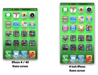 iphone 4x display