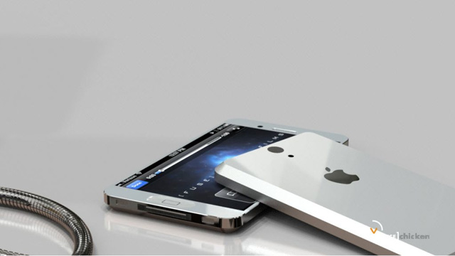 iphone 5 metall