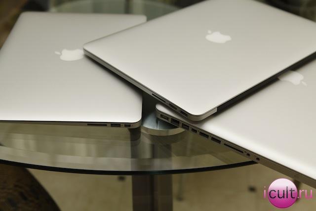 """MacBook Pro Retina среди """"яблочных"""" братьев"""