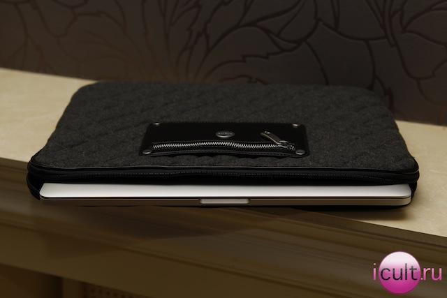 А так MacBook Pro Retina выглядит в чехле