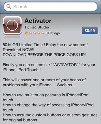 activator fake