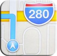 apple new maps icon