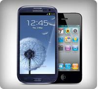 galaxy s 3 vs iphone 4s