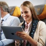 iPad как средство экономии топлива в самолете