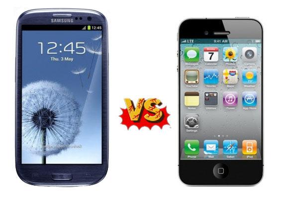 iPhone 5 и Samsung Galaxy S III: Кто популярнее?