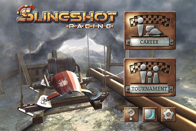 Slingshot Racing: Машинка на резинке