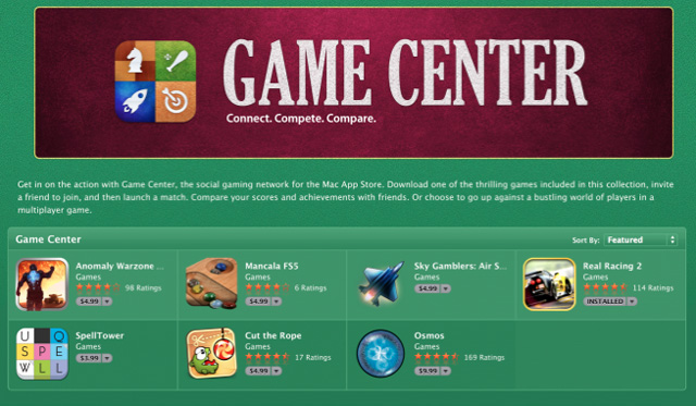 game center mac