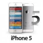 Фото белой передней панели iPhone 5