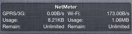 netmeterwidget