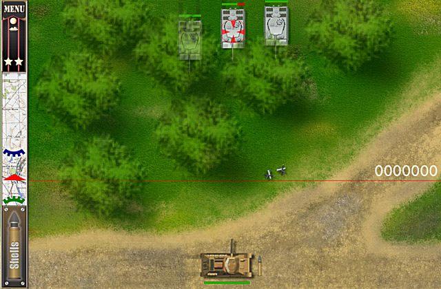 antitank battle