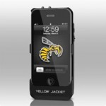 Yellow Jacket: чехол с электрошоком для iPhone 4/4S
