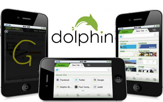Dolphin Browser для iPad