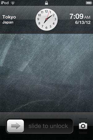 Clockify Lock Screen