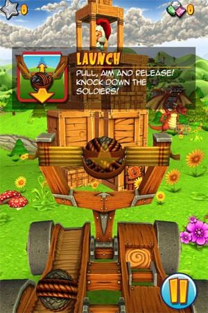 Catapult King для iPhone