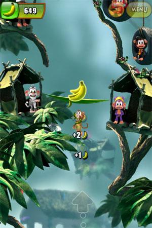 Игра про обезьянку для iPhone