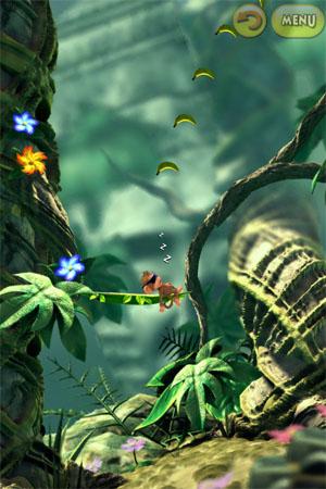 Игра про обезьянку для iPad