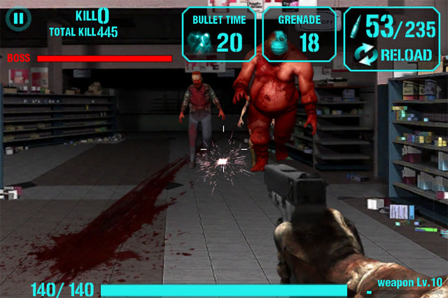 Gun Zombie для iPod touch