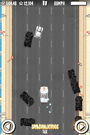 Прикольные гонки iOS