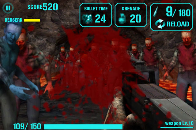 Zombie Shooter для iPhone