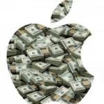 Акции Apple достигли рекордной стоимости за последние пару месяцев.