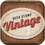 Vintage Deco: Поставь штамп на фотографию!