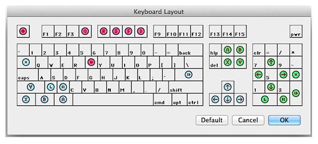 bsnes keyboard