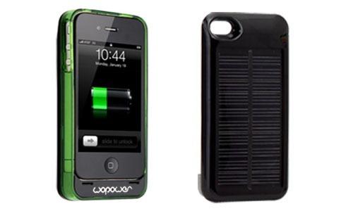 Чехол с аккумулятором и солнечной батареей