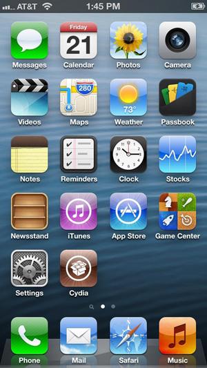 Взлом iOS 6