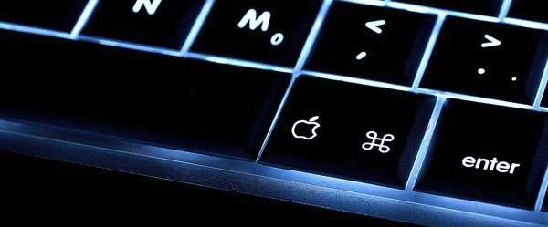 Apple Keyboard at MacBook