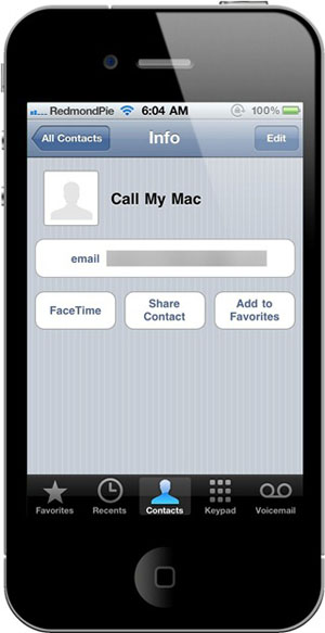 call my mac