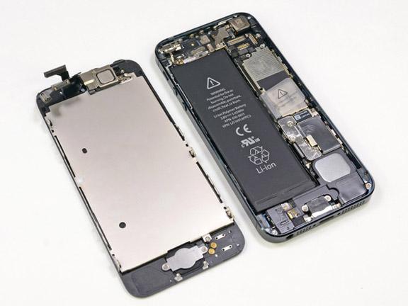 iPhone 5 без дисплея