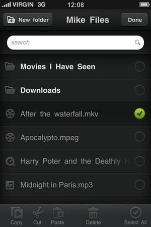 Аудиоплеер для iPhone