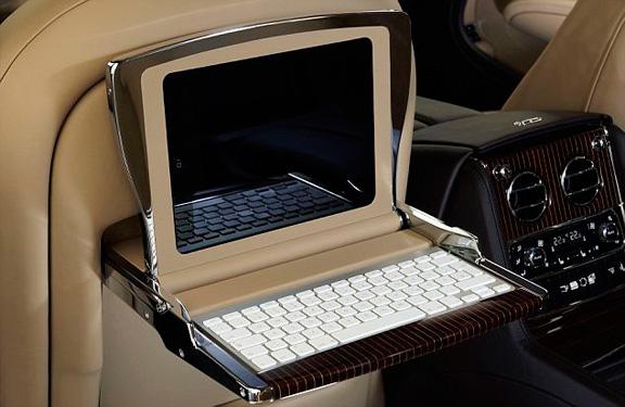 iPad + wireless keyboard