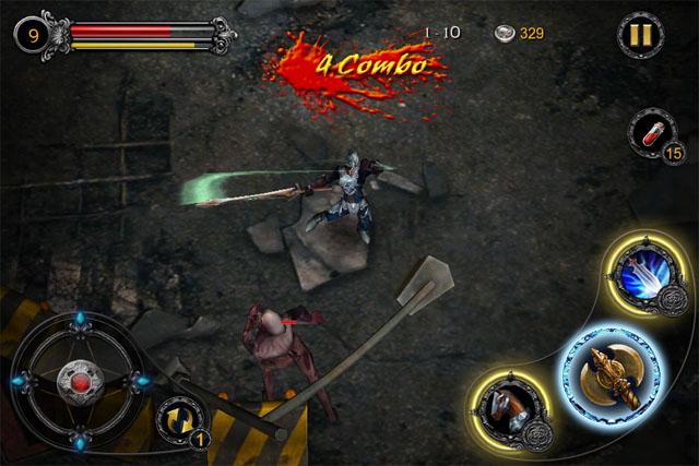Action-RPG для iPad