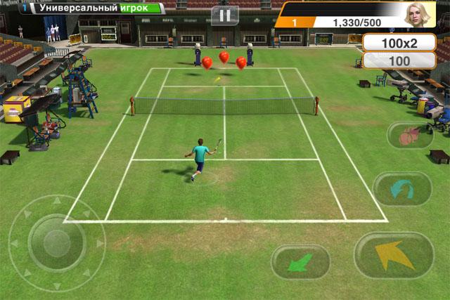 Теннис для iPhone