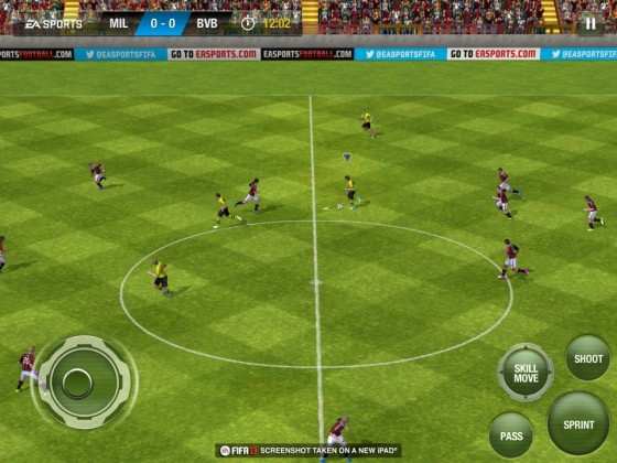 FIFA для iPod touch