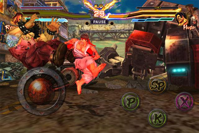 Tekken для iPod touch