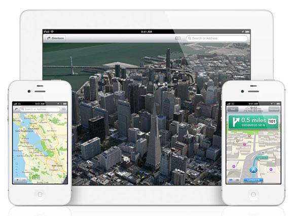 3D-карты iOS 6
