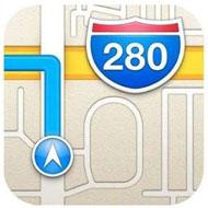 Карты в iOS 6