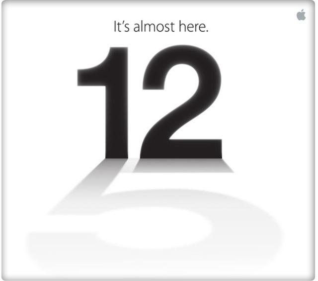 iphone 5 event