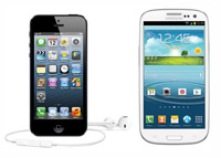 iphone 5 vs Samsung Galaxy s 3