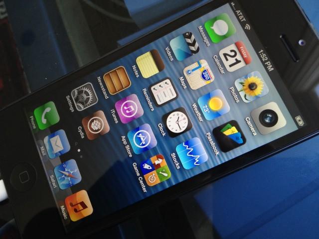 iPhone 5 джейлбрейк